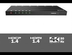 AV-BOX  SUH4 Усилитель-Распределитель HDMI 1 вх. 4 вых. - фото 55572