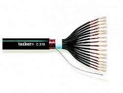 Tasker C310 - аудио мультикор 10х2х0.22 мм2 в общем экране - фото 55933