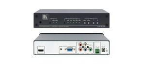 Kramer VP-434-Масштабатор сигналов VGA или YUV в сигнал HDMI c добавлением в него небалансного стерео аудиосигнала