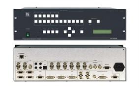 """Kramer VP-725N-Масштабатор видео и графики / коммутатор без подрывов сигнала. 21 вход, выходы VGA, HDTV, HDMI с поддержкой HDCP, функция """"картинка в картинке"""""""