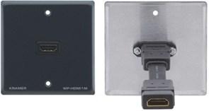 Kramer WP-H1M-Настенная панель-переходник с проходным разъемом HDMI