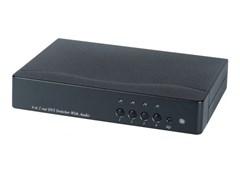 AV-BOX SW1-41AA (AV-DS04A-2) - Коммутатор DVI+стерео звук (4 вх. 1 вых)