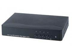 AV-BOX SW1-41AD (AV-DS04D-2)  Коммутатор DVI+звук цифровой оптический/коаксиальный (4 вх. 1 вых)