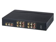 AV-BOX DA614AA (AV-CD04A-2) - Усилитель-распределитель композитного видеосигнала + стерео звук
