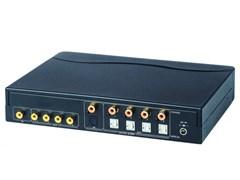 AV-BOX DA614AD (AV-CD04D-2)- Усилитель-распределитель (1 вх. 4 вых.) композитного видеосигнала + цифровой звук