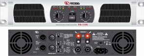 VOLTA PA-1100 - Усилитель мощности двухканальный