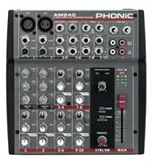 PHONIC AM 240 - Микшерный пульт компактный
