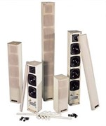 JEDIA JCO-140 - Звуковая колонна настенная 2-х полосная, 40 Вт. Цвет белый