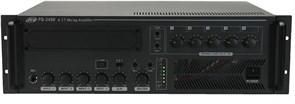 JEDIA JPS-1200 Микшер-усилитель  120 Вт\100В, 5 микр.\лин. входов, блок сирен, селектор зон с аттеню