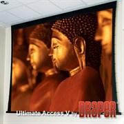 """Draper Ultimate Access/V HDTV (9:16) 302/119"""" 147*264 HDG ebd 30"""" корпус белый - Экран"""
