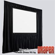 """Draper Stagescreen 1049/413"""" 514*914 BM1300 (black backed) - Экран"""