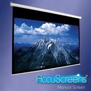 "Accuscreen Manual NTSC (3:4) 213/7' (50x66 1/2"") 127*169 MW - Экран"