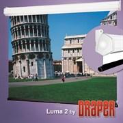 "Draper Luma 2 AV (1:1) 144/144"" 366*366 MW case white - Экран"