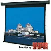 """Draper Premier HDTV (9:16) 409/161"""" 201*356 HDG ebd 12"""" case white - Экран"""
