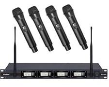 EnBao EU-4800 - Радиомикорфон на 4 канальный (4 в одном корпусе) перестраиваемые частоты, 730-840 МГц.
