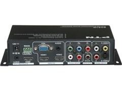 SC61D - Масштабатор, коммутатор, 2 x HDMI, 1 x VGA, 1 x C-video, 1 x S-video, 1 x PrPbY, rs232, >> HDMI + Audio