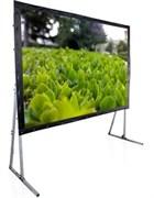 ScreenMedia Cineflex 203*153 PS MW LS-Z100RE&WB - Экран на раме (2 полотна: просветной+матовый)