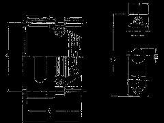 """CGKSUN09ME - Корпус для разъема """"D-SUB"""" 9 -конт.,металлизированный"""