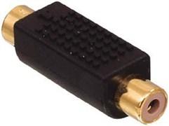 AC-068GOLD - Разъем переходной S-VHS штекер - RCA гнездо