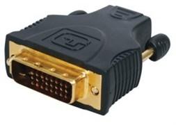HQSSVC004 - Разъем переходной HDMI (female) - DVI-i (male), позолоченый