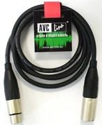 AVC Link CABLE-952/3.0-Black - Кабель цифровой XLR штекер - XLR гнездо длиной 3 м