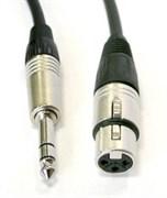 AVC Link CABLE-956/6-Black - Кабель аудио JACK stereo - XLR гнездо, длиной 6 м