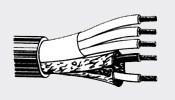 Belden 43908 - кабель для подключения активной акустики 3х1.00мм2+ 2х0.14мм2