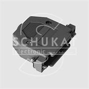 CGP09G - Корпус пластмасс. для 9-контактного разъема DSUB