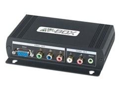 AV-BOX SC238AD (AV-HVY01-2)-Преобразователь HDMI сигнала в VGA, YPbPr + цифровой звук.