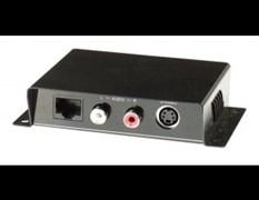 AV-BOX 5TP-300RTAA (AV-SE01A) Пассивный комплект приемник + передатчик передачи сигнала s-video + стереозвук