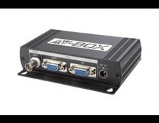 AV-BOX SC36 (AV-VC01-2) Преобразователь VGA в композитный видеосигнал