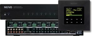 NV-I8GXS-EX - экспандер для NV-I8GMS-EX (расширение системы до 16 зон): 6 источников, 8 зон в комплекте 6 панелей управления
