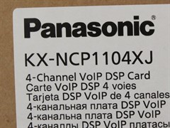 NCP1104XJ - Плата 4 внешних IP-линий  и 8 системных IP-телефонов