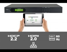 AV-BOX MUH44A-H2 Матричный HDMI коммутатор 4 вх., 4 вых., 4K@60Hz 4:4:4