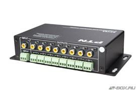 PTN SCV8A Усилитель-Распределитель 1:8 Композитный, Видео + Стерео, Аудио