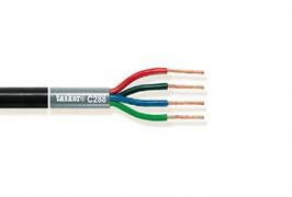 Tasker C288-BLACK - акустический кабель в двойной оболочке OFC 4X2.50 мм2