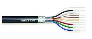 Tasker C146 - видео коаксиальный кабель 5х75Ом + 5x0,08 мм2 в общем экране