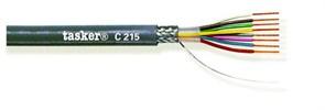 Tasker C215 - Экранированный LiYCY кабель 8х0.25 мм2