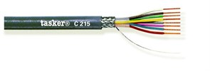 Tasker C217 - Экранированный LiYCY кабель 14х0.25 мм2