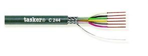 Tasker C243 - Экранированный LiYCY кабель 4х0.14 мм2