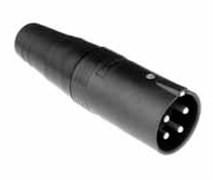 Amphenol AP-4-12 Кабельный разъем для громкоговорителей, AP Серия, Папа, Термопластик, Точеные контакты, 4 контакта