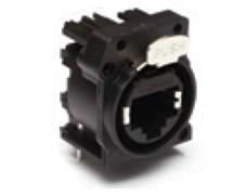 Amphenol RJX8FA3HB Панельный разъем Ethernet,XLRnet, Горизонт. в ПП, A-тип, Class D, Не экранированный, Без индикатора