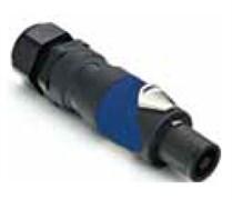 Amphenol SP-4-FG Кабельный разъем для громкоговорителей, SP Серия, PG, 4 контакта, Термопластик, Черный, Винт. зажим