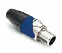Amphenol SP-4-FN Кабельный разъем для громкоговорителей, SP Серия, 4 контакта, Металл, Никель, Винтовой зажим