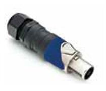 Amphenol SP-4-FNG Кабельный разъем для громкоговорителей, SP Серия, PG, 4 контакта, Металл, Никель, Винтовой зажим
