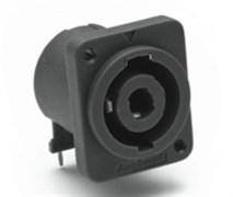 Amphenol SP-4-MDHT Панельный разъем для громкоговорителей, SP Серия, D-тип, 4 контакта, Под саморез, Горизонтальн в ПП