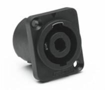 Amphenol SP-4-MDV Панельный разъем для громкоговорителей, SP Серия, D-тип, 4 контакта, Винт в потай, Вертикально в ПП