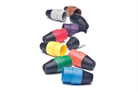 Amphenol AX-BOOT-1 Цветные колпачки для кабельных разъемов XLR серии AX Коричневый