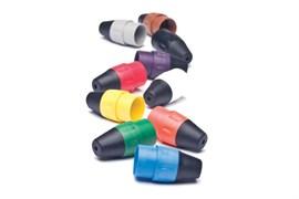 Amphenol AX-BOOT-4 Цветные колпачки для кабельных разъемов XLR серии AX Желтый