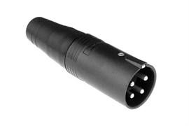Amphenol AP-5-12 Кабельный разъем для громкоговорителей, AP Серия, Папа, Термопластик, Точеные контакты, 5 контактов